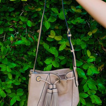 Window Shopping Purse: Taupe
