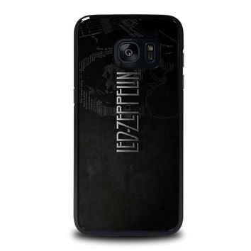 LED ZEPPELIN LYRIC Samsung Galaxy S7 Edge Case Cover