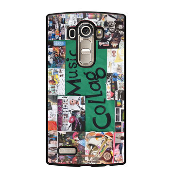 Broadway Musical Collage LG G4 Case