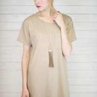 Laid Back T-Shirt Dress