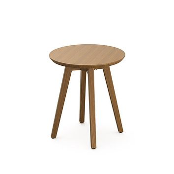 Knoll Risom Teak Outdoor Side Table