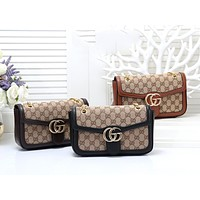 GUCCI 2019 new women's wild chain bag handbag shoulder bag