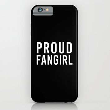 FANGIRL iPhone & iPod Case by The Fandom Designs