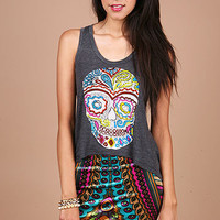 Day Of The Dead Tank - Graphic Tees at Pinkice.com