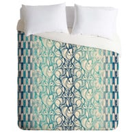 Pattern State Rabbit Run Duvet Cover