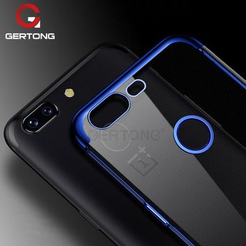 Electroplate Shining Phone Case for Oneplus 5 5T 6 Ultra Thin Soft TPU Plating Back Cover Shell for One plus 1+5T 1+6 6T 1+6T