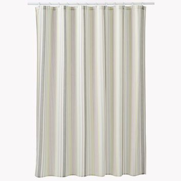 SONOMA life + style Garden Oasis Stripe Shower Curtain