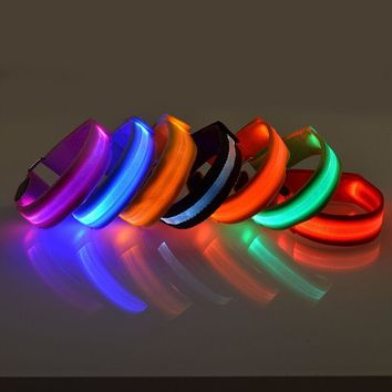 Glow In The Dark LED Safety Dog Collar