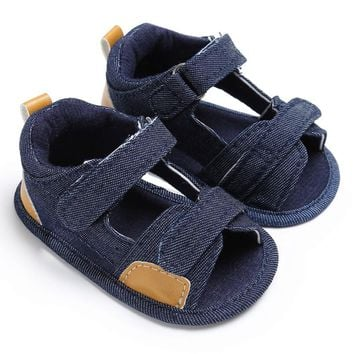 Baby Boys Toddler Canvas Infant Kids Girl boys Sole Crib Toddler Sandals Shoes sandals for boy