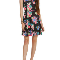 Disney Lilo & Stitch Floral Print Dress