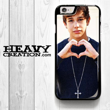 Austin Mahone Collage for iPhone 4 4S 5 5S 5C 6 6 Plus , iPod Touch 4 5  , Samsung Galaxy S3 S4 S5 S6 S6 Edge Note 3 Note 4 , and HTC One X M7 M8 Case