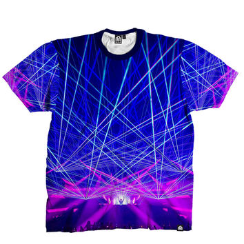 RUKES Death By Lazers Men's Tee