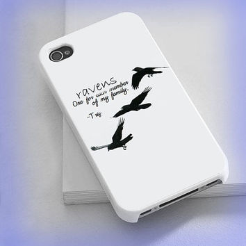 Cover phone case Ravens, Ravens divergent  for iPhone 4/4s, iPhone 5/5s/5c, iPod 4/5, Samsung Galaxy s3/s4