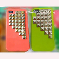 iphone 5 case, iPhone 4 case, iphone 4s case, iphone5 case cover, studded iphone 4 case, studded iphone 5 case, unique iphone 4 cases