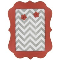Coral, White & Gray Chevron Message Board | Shop Hobby Lobby