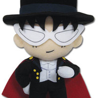 Sailormoon 8'' Tuxedo Mask Sailor Moon Plush Anime Licensed NEW