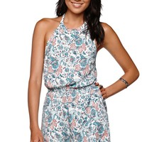 Kendall & Kylie Halter Romper - Womens Dress - Multi -