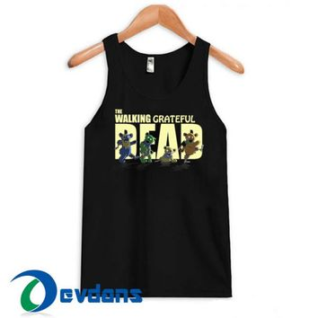 The Walking Grateful Dead Tank Top Men And Women Size S to 3XL