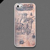 iPhone 5 Case - Treasure map - also available in iPhone 4 and iPhone 4S size