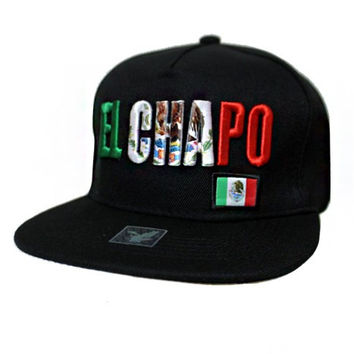 * El Chapo Embossed Fashion Snap Back