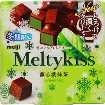 Meiji Meltykiss Green Tea
