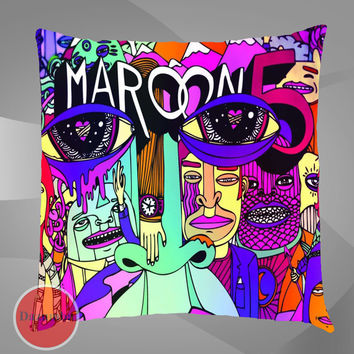Unique Pillow case maron 5 band album cover