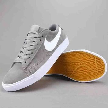 Nike Blazer Low Women Men Fashion Casual Old Skool Low-Top Shoes-3