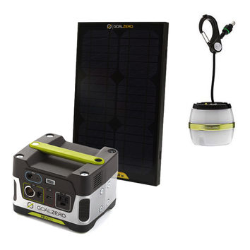 "Yeti 150 Kit with ""Light a Life"" & Solar Panel"