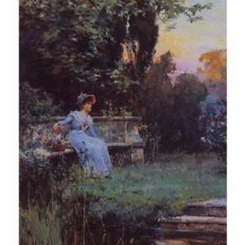 A Moment's Peace Alfred Glendenning Art Print