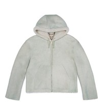 WOMENS SHORT SHEARLING JACKET DUNE