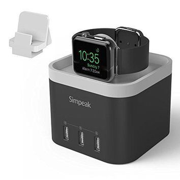 USB CHARGING STAND Cable Charger Cord Docking Station For iWatch APPLE WATCH New
