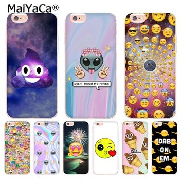 MaiYaCa boss Bitch mode on pink please Emoji art Coque Shell Phone Case for Apple iPhone 8 7 6 6S Plus X 5 5S SE XS XR XSMAX