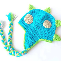 Crochet Dinosaur cake smash outfit boy - Cake smash outfit girl - Dinosaur hat - Dinosaur Crochet hat - baby outfits for pictures - Dinosaur