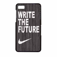 Nike Write Future Wood BlackBerry Z10 Case
