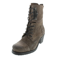 Diesel Womens The Wild Land Canionik Suede Heels Ankle Boots