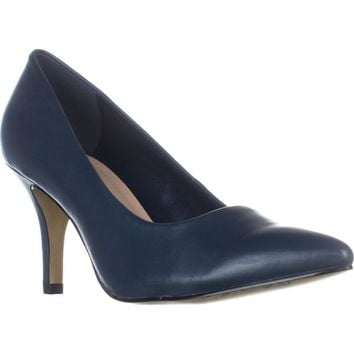 Bella Vita Define Classic Dress Pumps, Navy, 10 W US