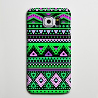 Aztec Turquoise Galaxy Edge Case Plus Galaxy s6 Samsung Galaxy Note 5 Case s6-074