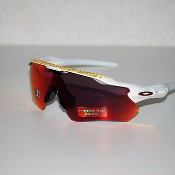 Oakley Radar EV Path Prizm Sunglasses OO9208-5038-Matte White/Prizm Road NEW