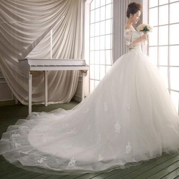 DCCKIX3 Bridal wedding dress shoulder sleeve wedding bride wedding luxury = 1929381828