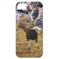 Rodeo Bull RIder, iPhone Case iPhone 5 Case from Zazzle.com