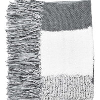 Mix Stitch Tassel Scarf - Scarves - Bags & Accessories