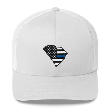 South Carolina - Thin Blue Line Hat