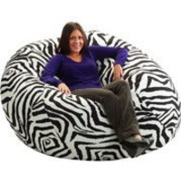 King 5' Fuf Bean Bag Chair