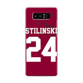 Stiles Stilinski 24 Jersey Teen Wolf Samsung Galaxy Note 8 Case
