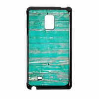 Teal Wood Samsung Galaxy Note Edge Case