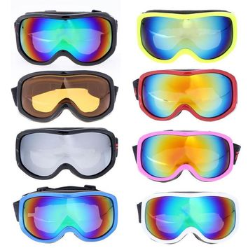 New Professional Unisex Ski Goggles Adult Kids Big Mask Ski Mask Glasses Men Women Riding Climbing Hiking Snow Skiing Eyewear