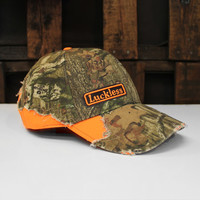 Luckless LLC | Blaze Sportsman's Hat (Mossy Oak® Break-Up Infinity® / Orange)