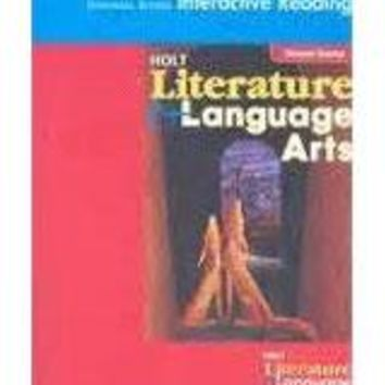 Holt Literature and Language Arts California Universal Access Interactive ReaderGrade 8