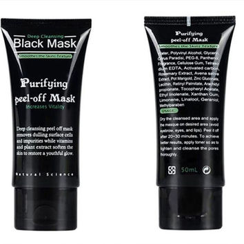 Blackhead Removal Face Mask Deep Cleansing Mud Black Mask Acne Treatments Mask Blackhead Facial Mask