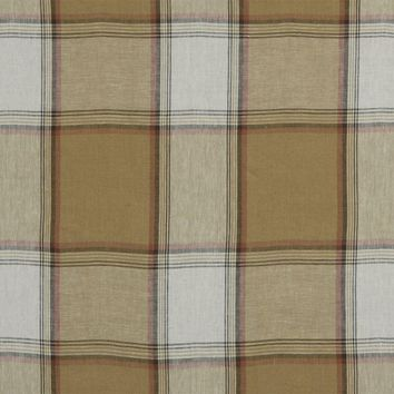 Robert Allen Fabric 215677 Vintage Plaid Camel